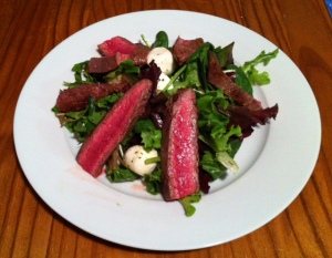 Byron's Steak Salad with Bocconcini and Chimichurri
