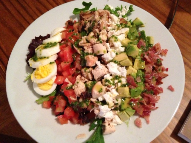 Cobb Salad with Chive Vinaigrette